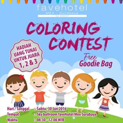 Coloring Contest For Kids