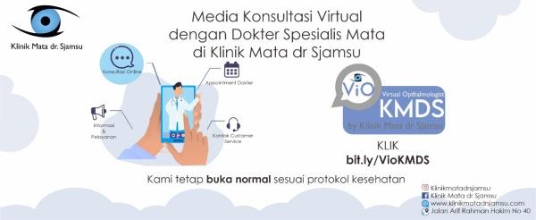 Hadir di Surabaya ! Vio-KMDS - Solusi Mudah Konsultasi Kesehatan Mata Online , Klinik Mata dr. Sjamsu