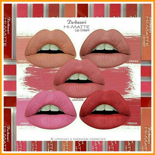 meet your true matte dengan Purbasari Hi Matte Lip Cream