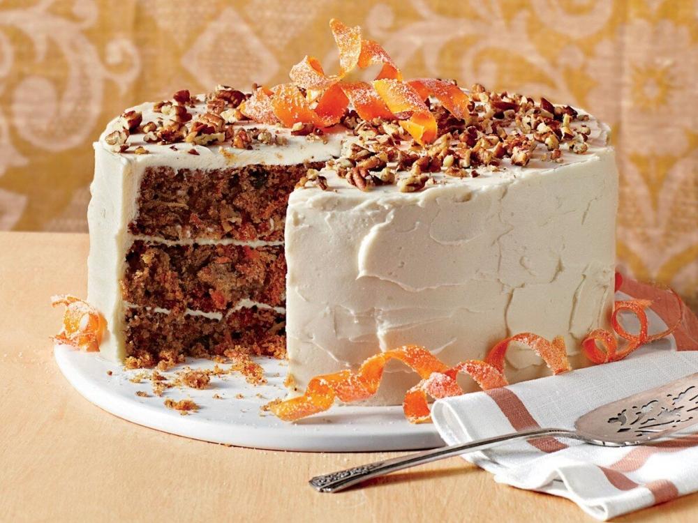 Buat Camilan Sehat Di Rumah Dengan Carrot Cake
