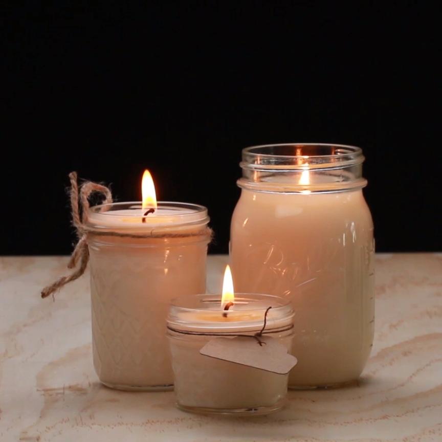 Cara Membuat Lilin Aromaterapi Praktis di Rumah