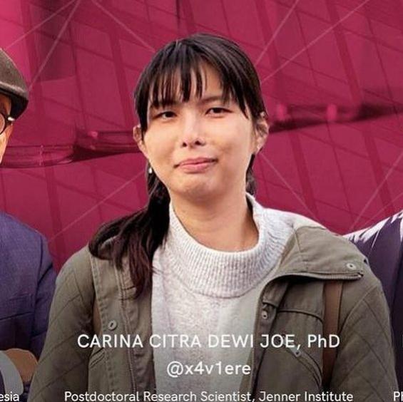 Carina Citra Dewi Joe, Peneliti Asal Indonesia Untuk Vaksin AstraZeneca
