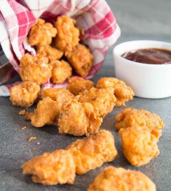 Ide Camilan Anak-Anak dengan Popcorn Chicken