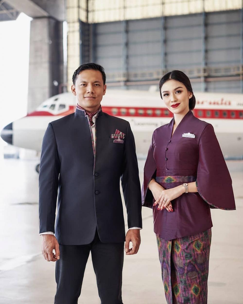Indahnya Seragam Baru Garuda Indonesia