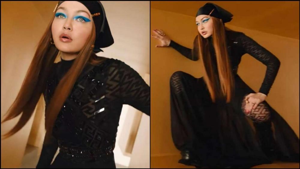 Penampilan Perdana Gigi Hadid Di Milan Fashion Week 2021
