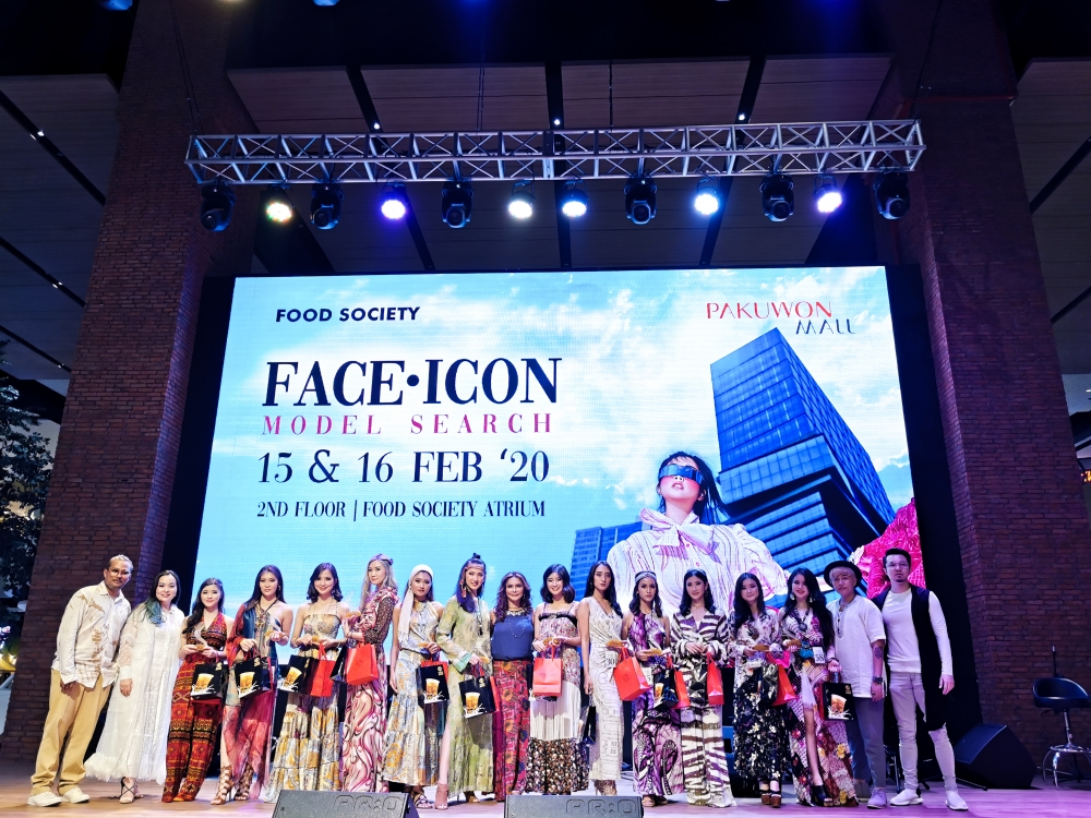 Pertama, Kompetisi Face Icon Model Search 2020