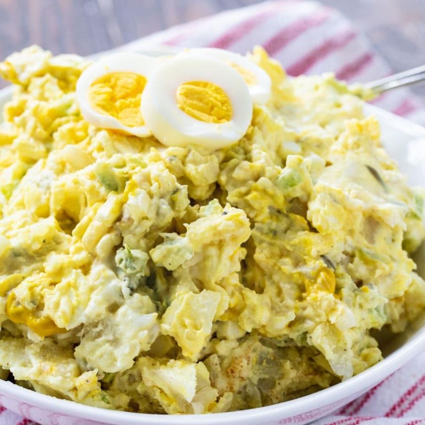 Rekomendasi Menu Sehat dengan Potato Salad!