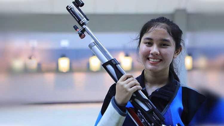 Sosok Vidya Rafika Atlet Cabang Olahraga Menembak Yang Sumbang Emas Di Sea Games 2019