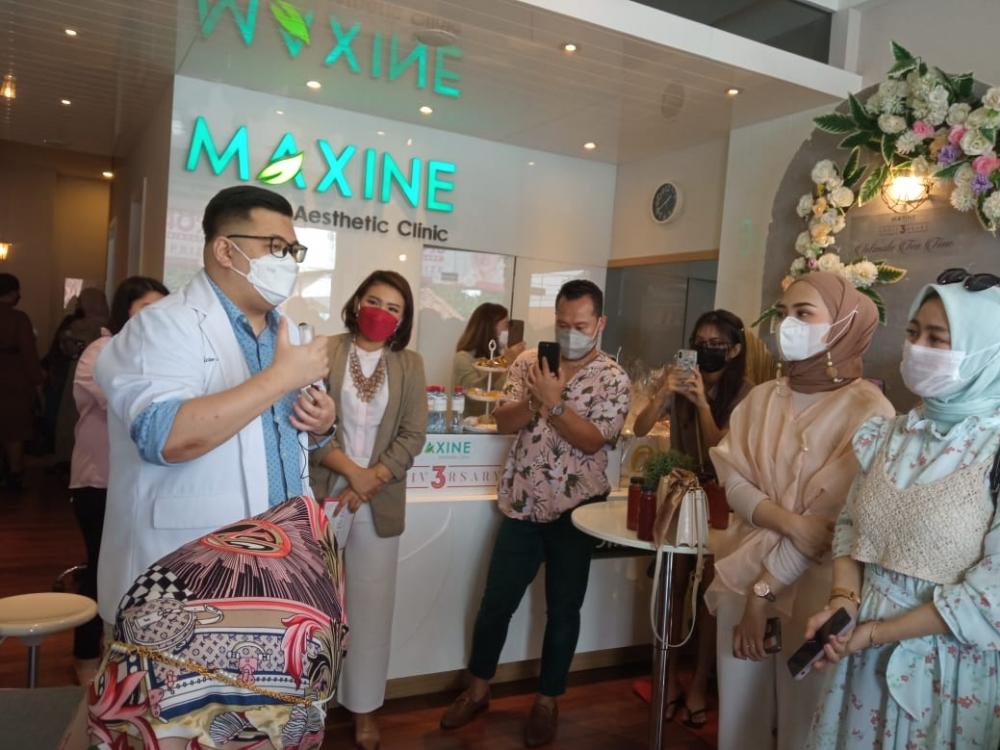 Ulang Tahun Ketiga, Maxine Luncurkan 3 Produk Baru